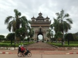 On the Road:Vientiane